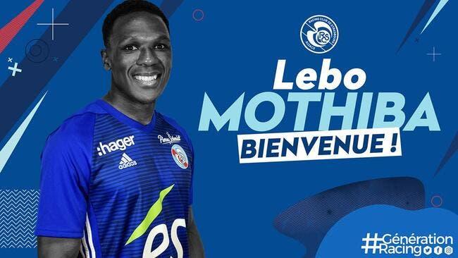 Officiel : Lebo Mothiba quitte Lille pour Strasbourg