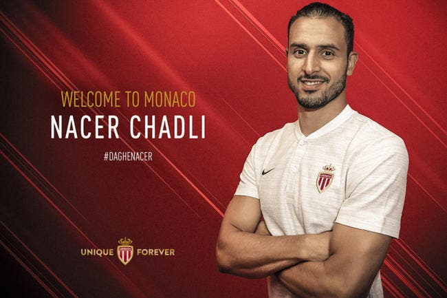 Officiel : Nacer Chadli signe à l'AS Monaco !