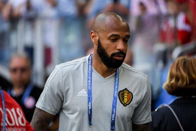 Eur : Thierry Henry nommé sélectionneur adjoint de la Belgique
