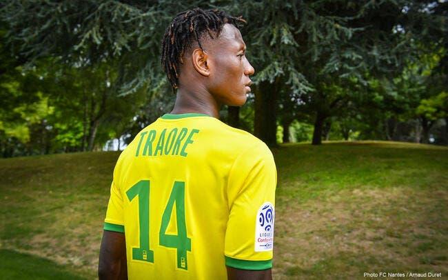 Officiel : Charles Traoré quitte Troyes et signe à Nantes !