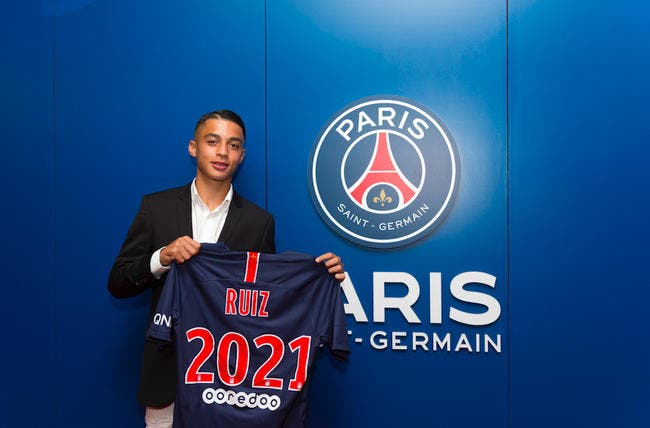 PSG : A 16 ans, le prodige Kays Ruiz-Atil signe pro au PSG !