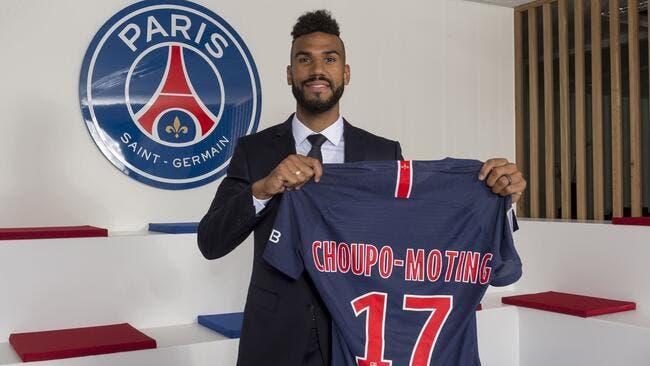 PSG : Choupo-Moting signe au PSG jusqu'en 2020