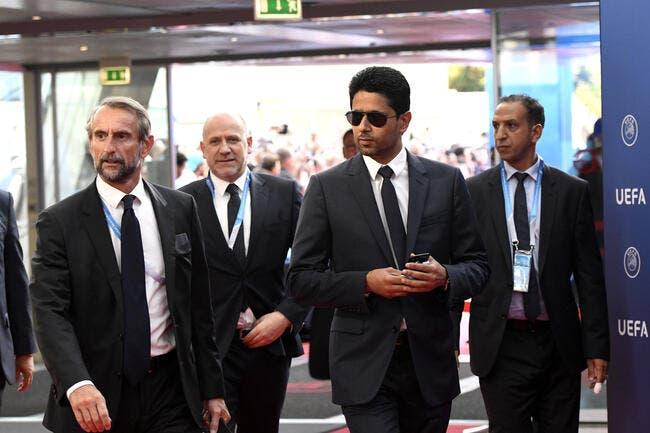 PSG : Nasser Al-Khelaifi a cartonné Javier Tebas en public !