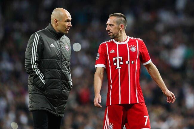 All : Dix ans plus tard, Ribéry et Robben vont quitter le Bayern !