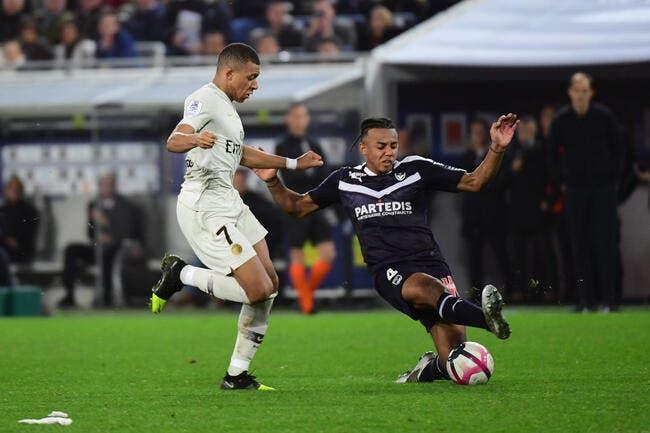 L1 : Le PSG perd ses premiers points à Bordeaux