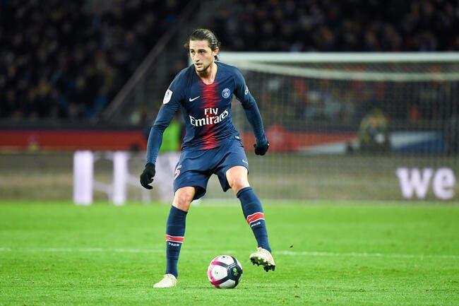 PSG : Rabiot absent à Bordeaux, la raison est connue