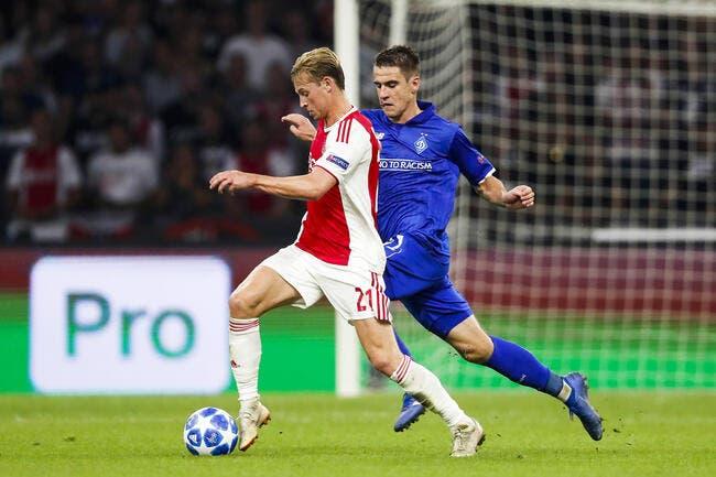 PSG: Agent, Coach ... The Frenkie De Jong bomb - Foot01.com