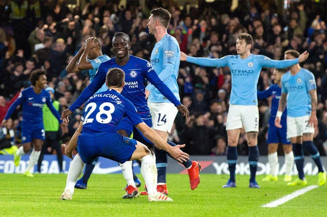 Ang : Chelsea fait tomber Manchester City !