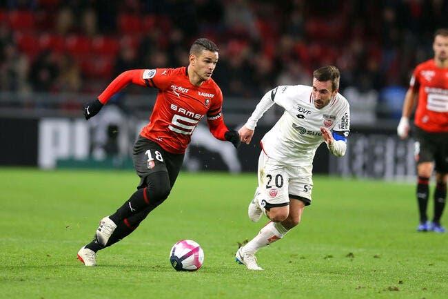 Rennes et Ben Arfa confirment, Guingamp s'enfonce