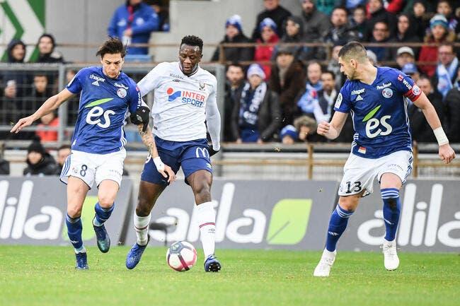 L1 : Caen arrache un nul fou à Strasbourg !