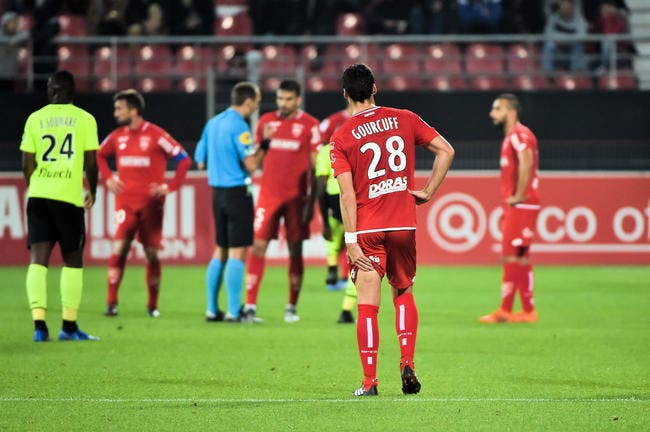 DFCO : Yoann Gourcuff, 135 minutes de jeu, une blessure et adieu 2018 !