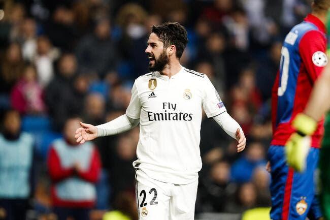 Real Madrid: Ça sent plus que jamais le divorce pour Isco