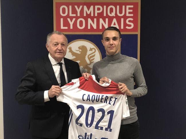 OL : Premier contrat pro pour le prodige Maxence Caqueret