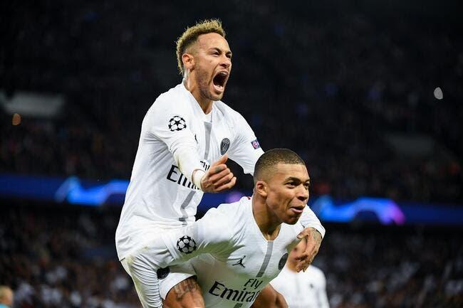 PSG : Neymar et Mbappé en L1, ça ne va pas durer et il en profite