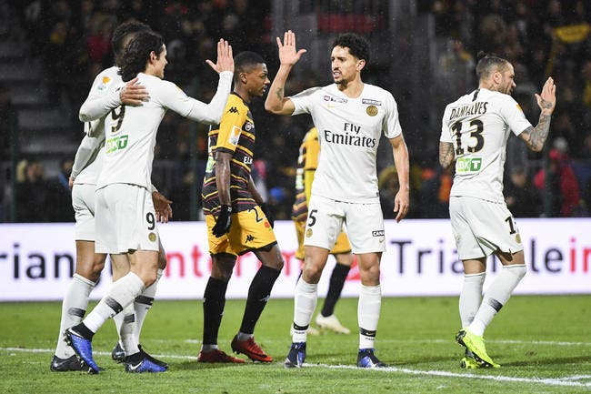CdL: Le PSG passe dans un match plus chaud que prévu