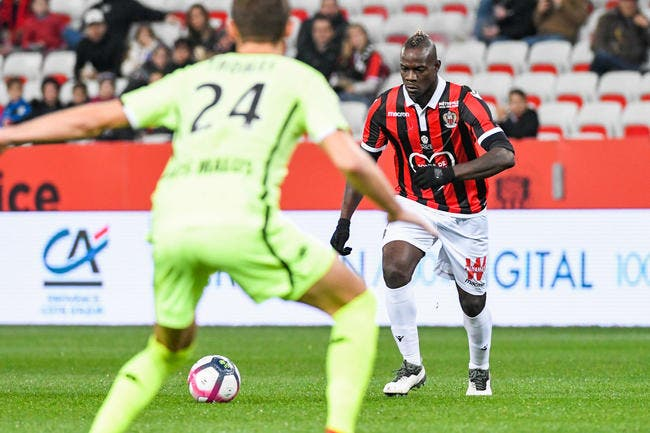 Nice : Vieira snobe Balotelli contre Guingamp, ça sent le divorce