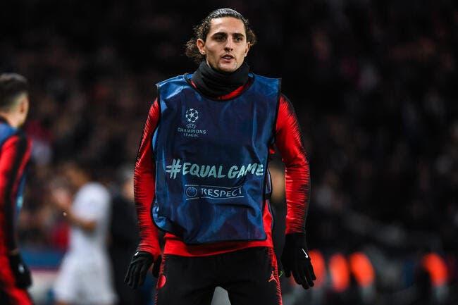 PSG: Rabiot se prend une banderole dans la tronche à Orléans