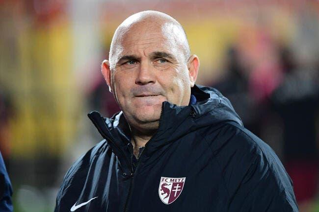 L2: Le FC Metz annonce la mise en retrait d'Antonetti