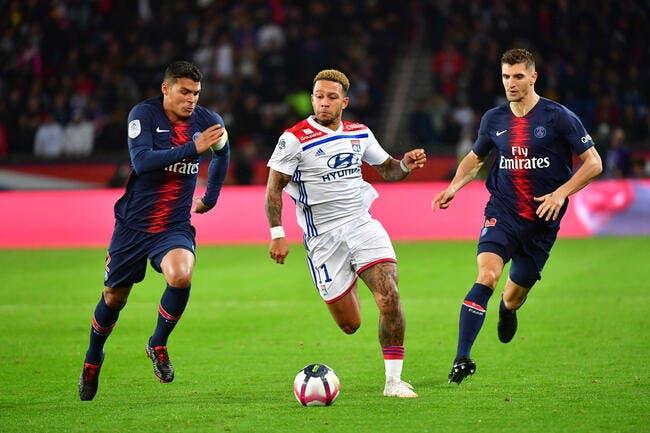 OL : Memphis Depay contre le PSG, c'est lui le roi Lyon !
