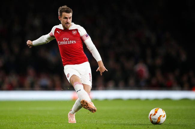 PSG: Ramsey exe a montage d'or for Paris SG sign