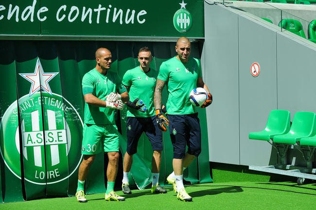Ruffier, Moulin, Ntep incertains — ASSE/ASC