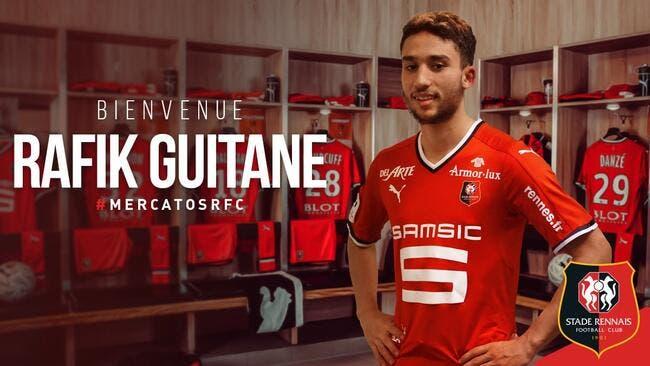 Officiel : Rennes grille tout le monde et recrute Guitane