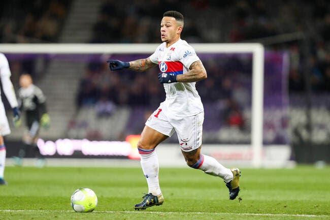 Depay pisté par l'AC Milan — Mercato OL