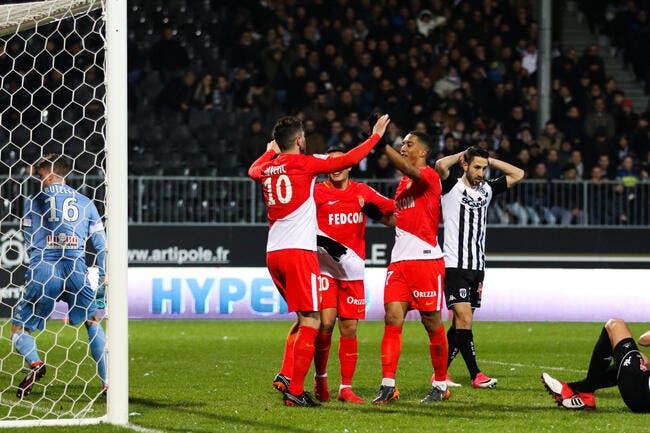 L1 : Monaco dauphin du PSG, le MHSC et Bordeaux rigolent