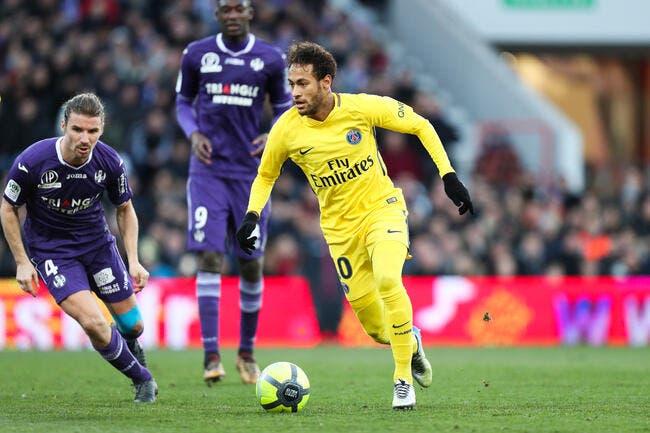 Neymar à la baguette, le PSG valide sa répétition
