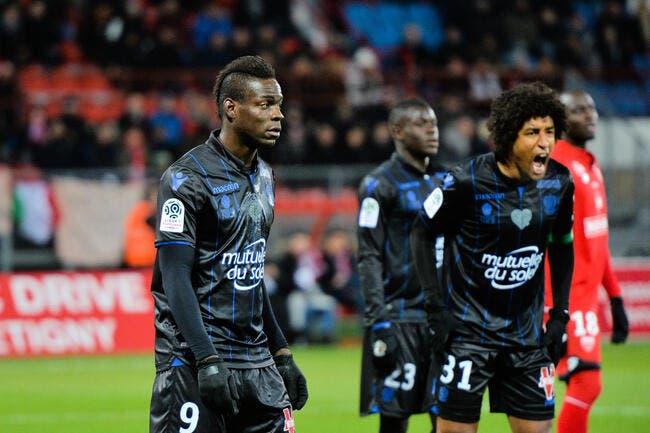 OGCN : Mario Balotelli victime d'insultes racistes à Dijon ?