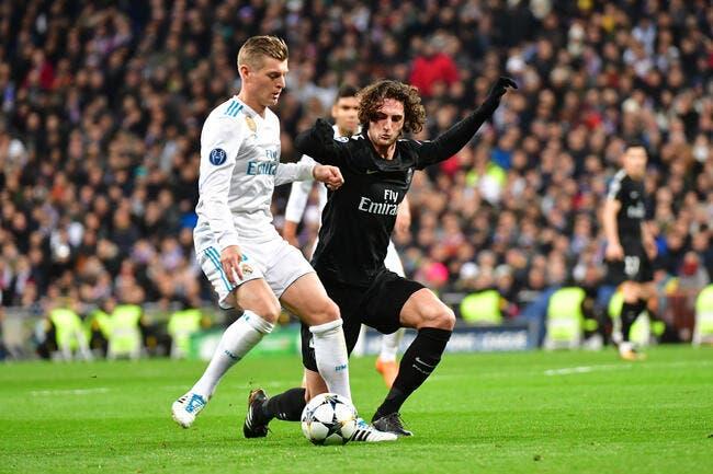 PSG : La décla choc de Rabiot après la défaite du PSG à Madrid