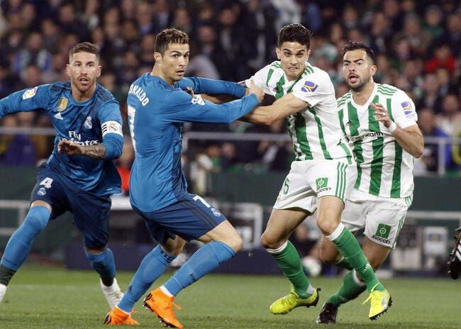 Liga : Le Real Madrid galère au Betis Séville