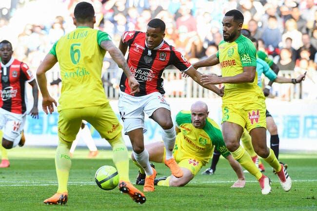 Nice n'avance plus, Nantes en profite et gratte un point