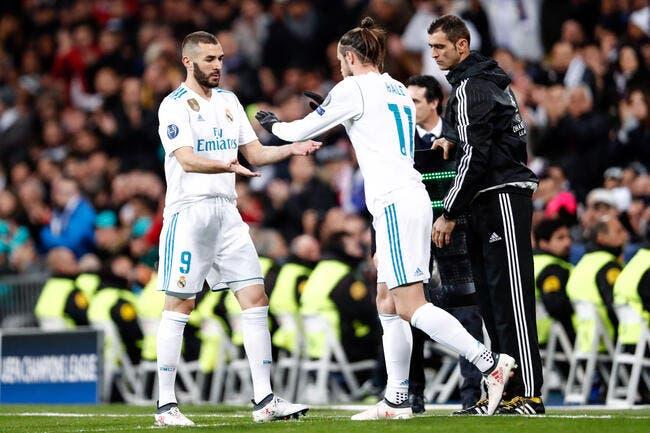 Real : Benzema vainqueur de Bale par KO au mercato !
