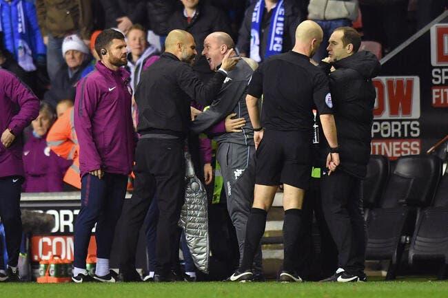 Wigan fait tomber City