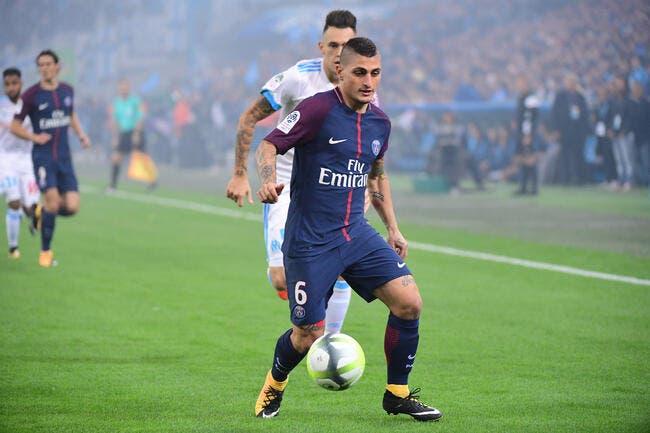 PSG: Verratti rêve de pourrir la saison de l'OM