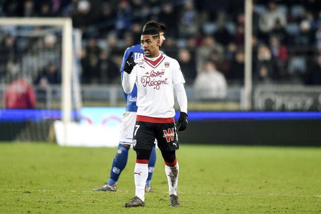 Bordeaux: sanction alourdie pour Malcom après sa simulation contre Lyon