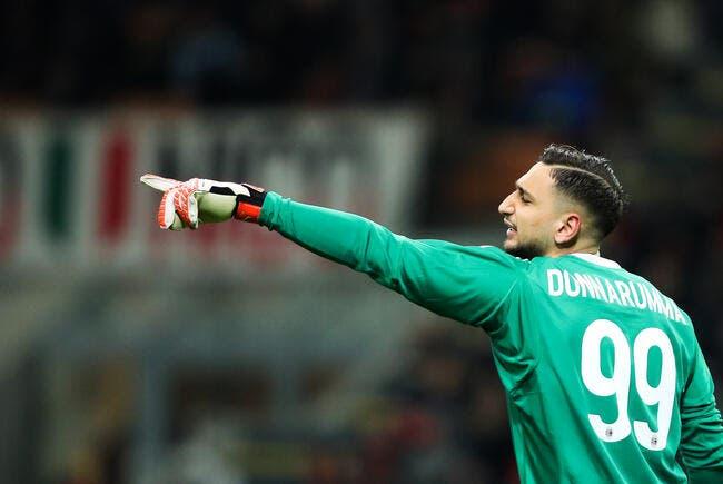 Donnarumma veut rejoindre le PSG — Milan
