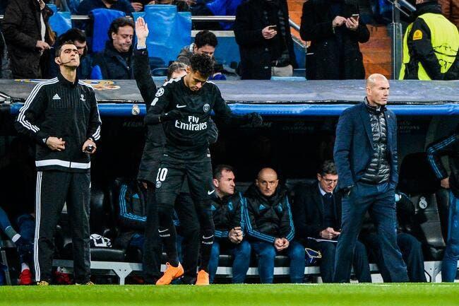 PSG : Neymar blessé avant le Real, Zidane est dégoûté