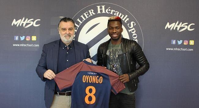 Officiel : Montpellier officialise Oyongo et fait une annonce
