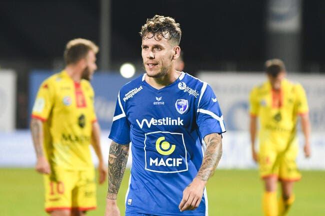 Officiel: Romain Grange quitte Niort pour Charleroi