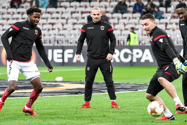 Transferts : Wesley Sneijder quitte déjà Nice pour Al Gharafa