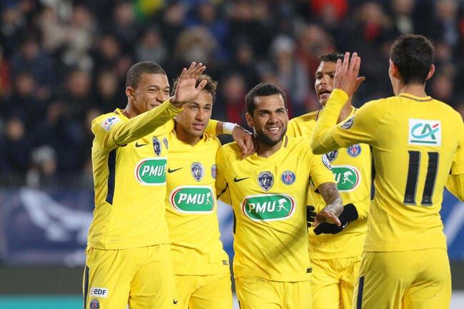 CDF : Le PSG cartonne Rennes avec son attaque de feu