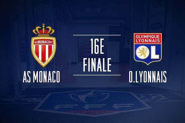 CdF : une affiche Monaco-OL en 16es, le tirage complet !