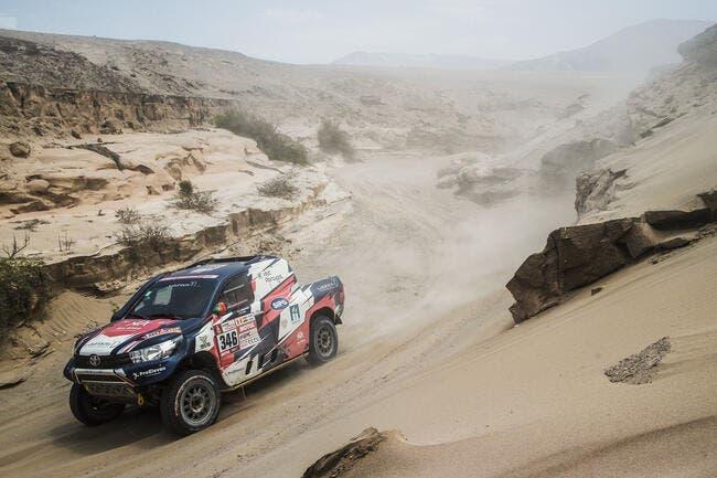 Andre Villas-Boas finit le Dakar à l'hôpital