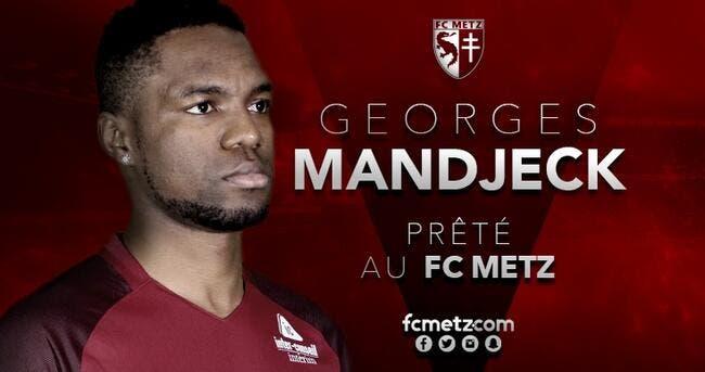 Officiel : Pour se sauver, le FC Metz fait revenir Mandjeck