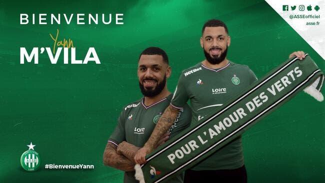Officiel: Enfin, Yann M'Vila signe à l'ASSE