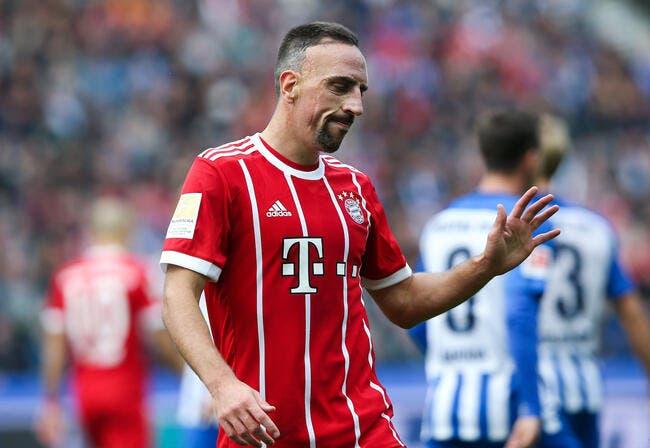 Ribéry veut prolonger, le Bayern n'ose pas lui dire…