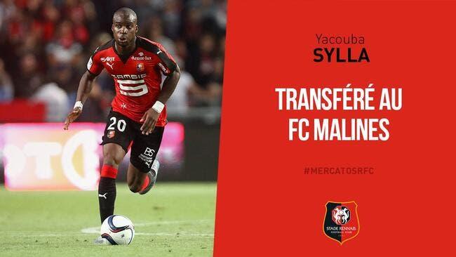 Sylla quitte Rennes et part en Belgique — Mercato