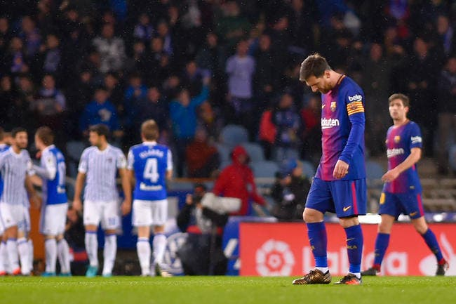 Le Barça chute face à l'Espanyol — Coupe du Roi